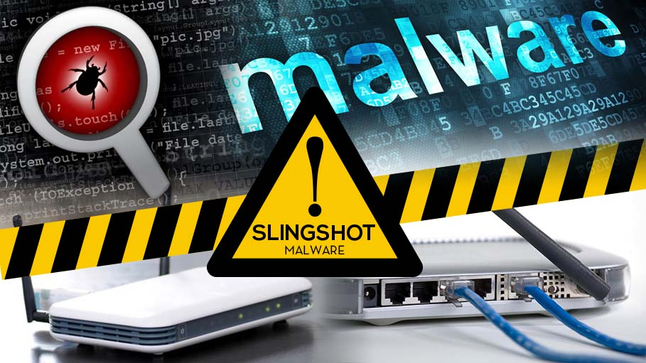 Highly Complex Slingshot Malware Attacks through Routers