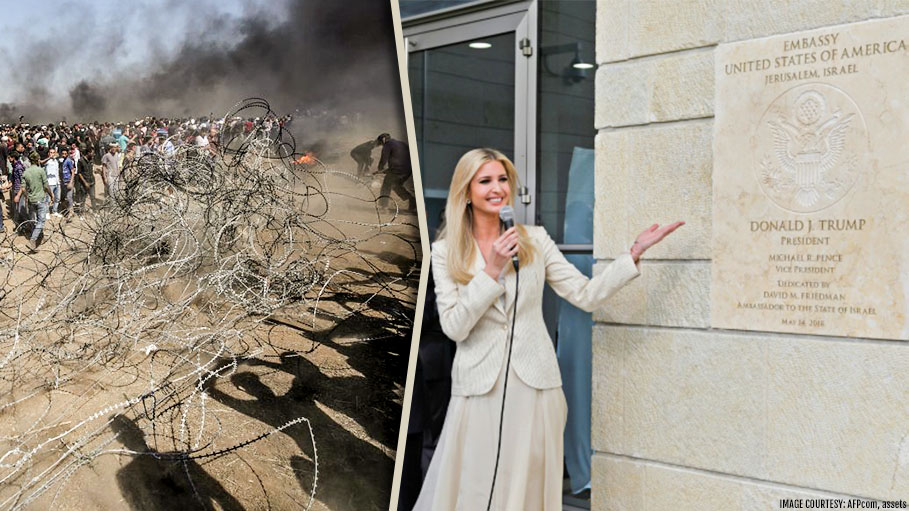 While Ivanka Trump Was Criticized During Gaza Violence, Israel Military Spokesman Defends Action Of Israeli Forces