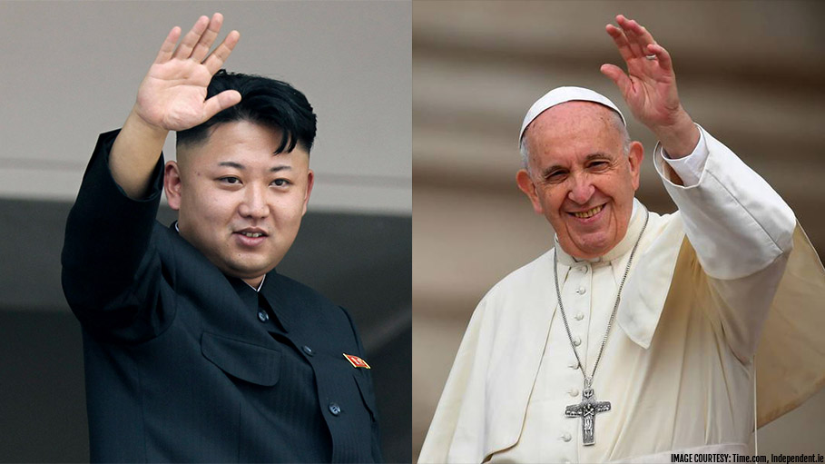Kim Invites Pope Francis to North Korea