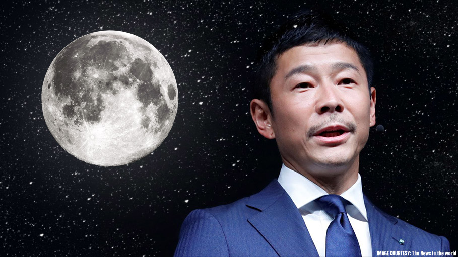 Japanese Billionaire to Be the First Moon Tourist