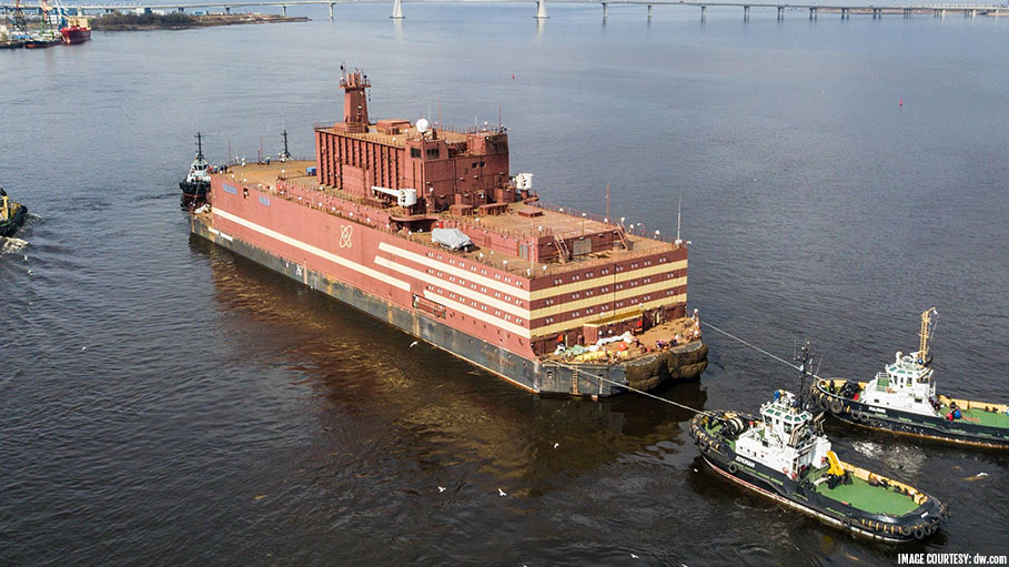 Russia Starts Reactor of Floating Nuclear Plant