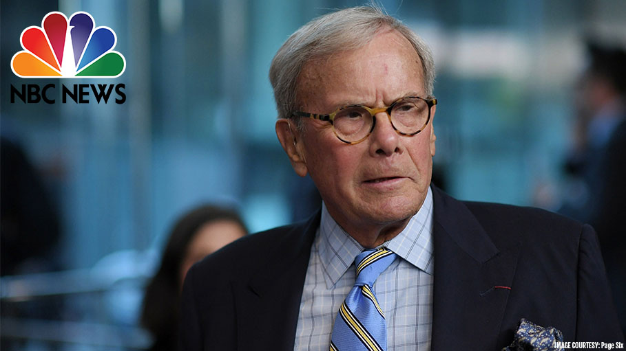 Female Supporters of NBC News Anchor Tom Brokaw, Accused of Sexual Harassment Charges, Claim He's a Decent Man