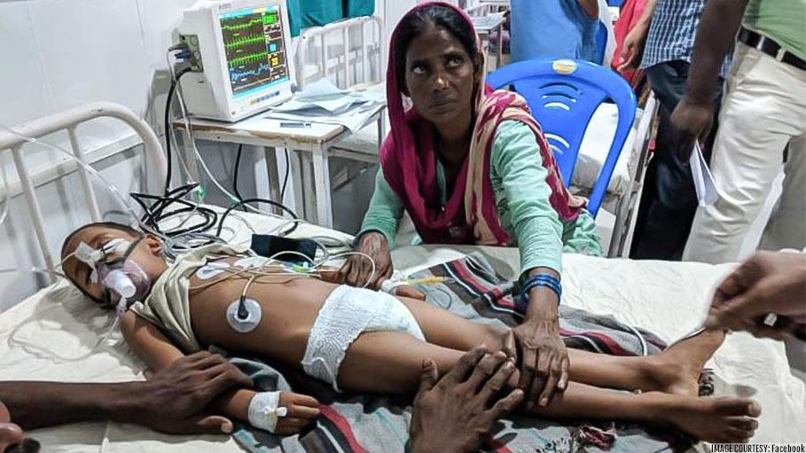 100 Children Faced Death Due to Encephalitis in Bihar