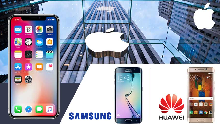 Apple Emerges as the Global Leader in a Declining Smartphone Market - Samsung and Huawei Follow