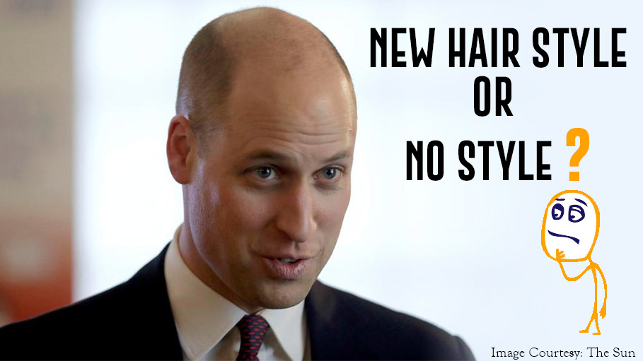 Prince William's New Hair Style or No Style At All