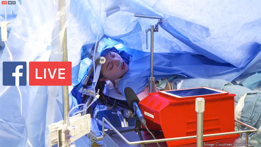 Doctors Live Stream Brain Surgery on 25-Year-Old Woman on Facebook