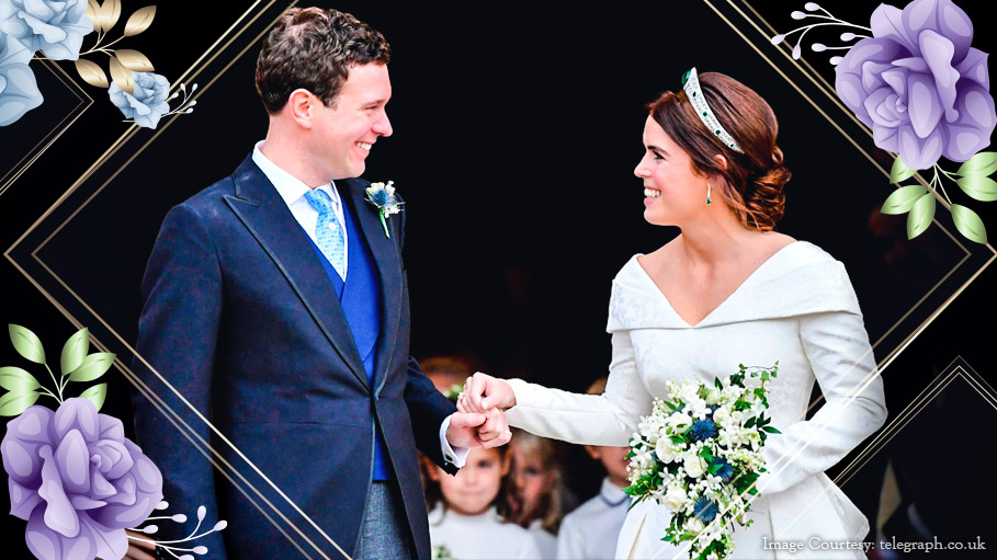 Royal Wedding in UK as Princess Eugenie Weds Jack Brooksbank