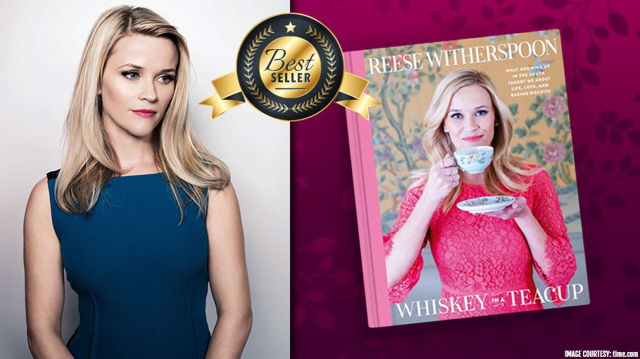 Reese Witherspoon's Book 'Whiskey in a Teacup' Is No.1 in New York Times Bestseller List