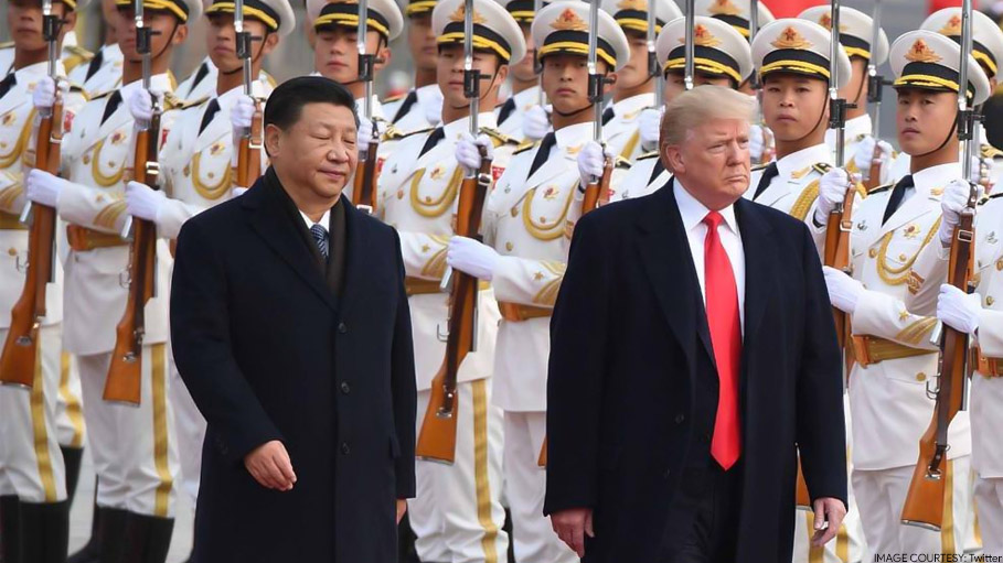 Donald Trump Little Upset with China, Says Should Have Told Us about Coronavirus