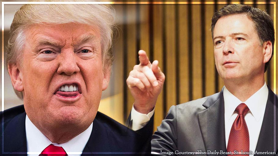 Donald Trump is Morally Unfit to be President Says Former FBI Director James Comey