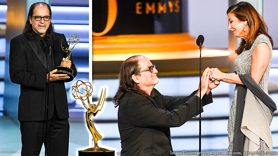 Emmy Award Director Glenn Weiss Proposes Girlfriend Live on Stage
