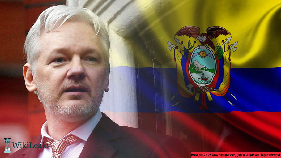 WikiLeaks Founder Julian Assange, Now an Ecuador Citizen
