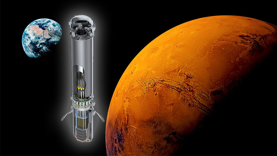Nuclear Reactor in Next Mars Mission