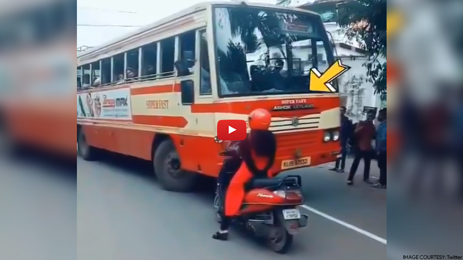 This Brave Woman Refuses to Give Way to a Bus Driver in Kerala