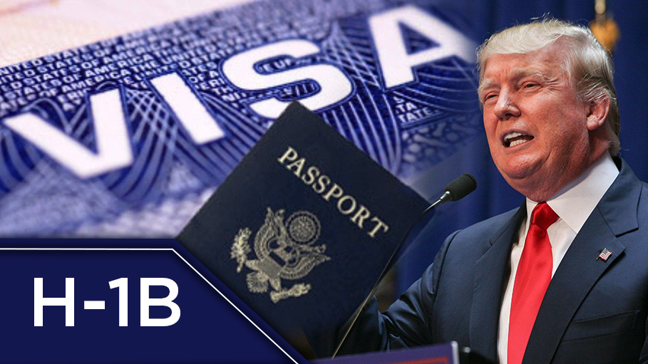Trump is to Bring in a New Law for H-1B Visa Holders