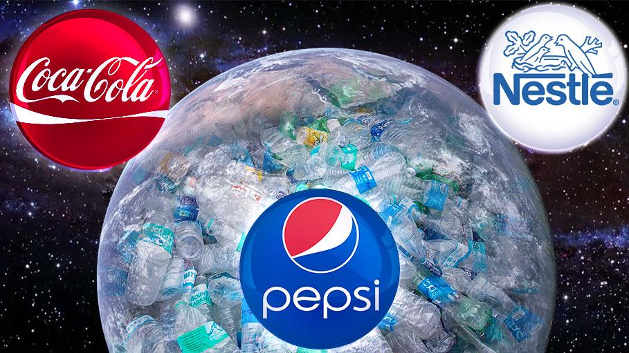 Coke, Pepsi and Nestle Produces World's Largest Plastic Trash
