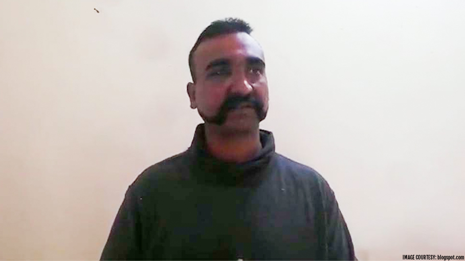 Air Force Pilot Abhinandan Varthaman Is Being Hailed a Hero for Maintaining Composure Amid High Tension