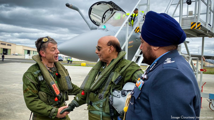 India Receives First Lot of Rafale Jets from France
