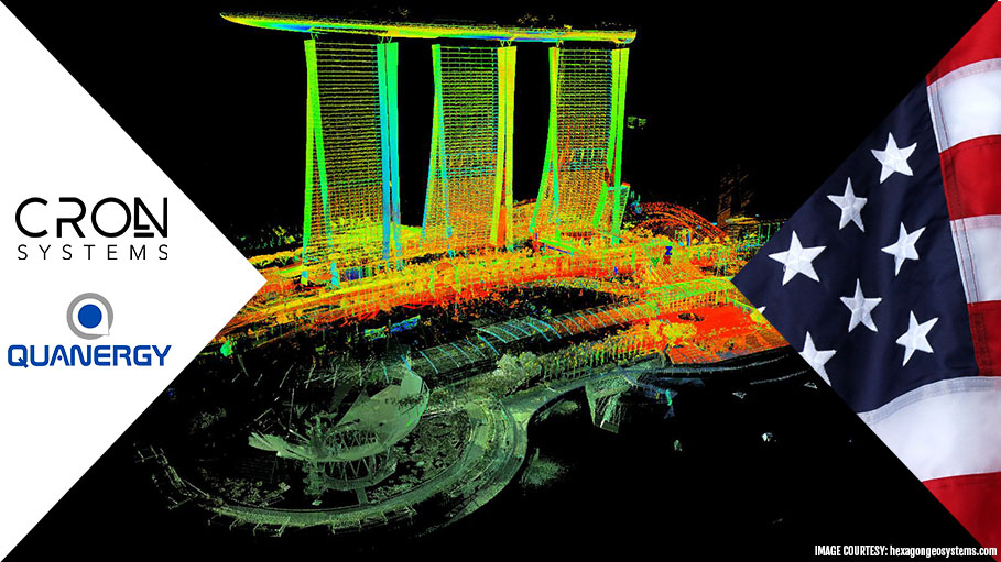 CRON Systems, Quanergy Systems Inc, US Join Hands to Develop LiDAR