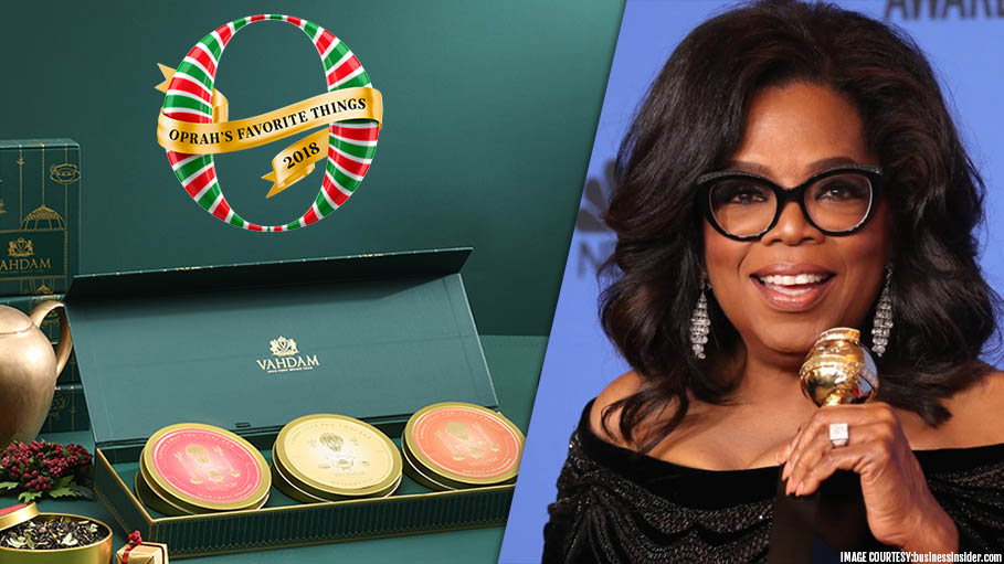 Vahdam Teas Becomes First Indian Company to Be Selected as One of This Year's Oprah Winfrey's Favorite Things