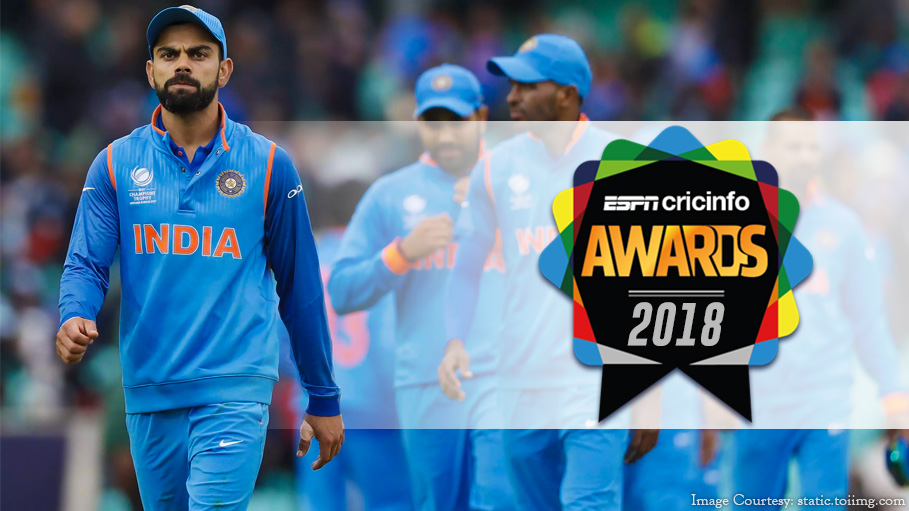 ESPNcricinfo Awards: Indians Win 5 out of 12 Categories