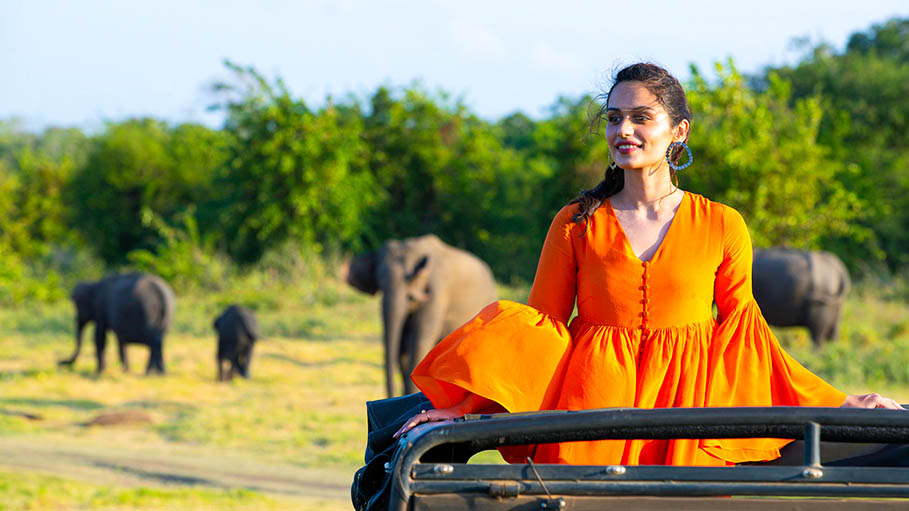 Manushi Chhillar Explores Sri Lanka with Cinnamon Hotels & Resorts