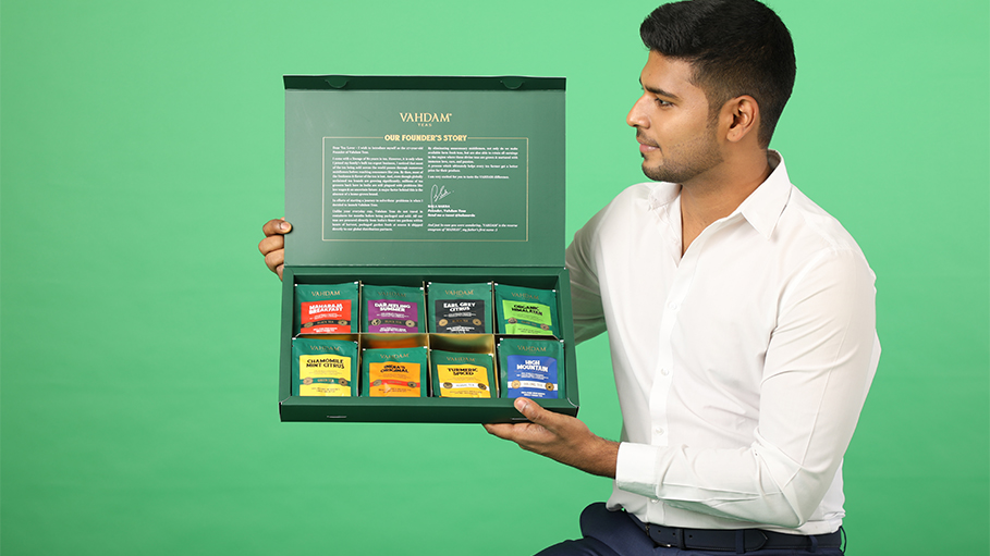 VAHDAM TEAS: First Indian Brand to Come on Ellen Degeneres Show