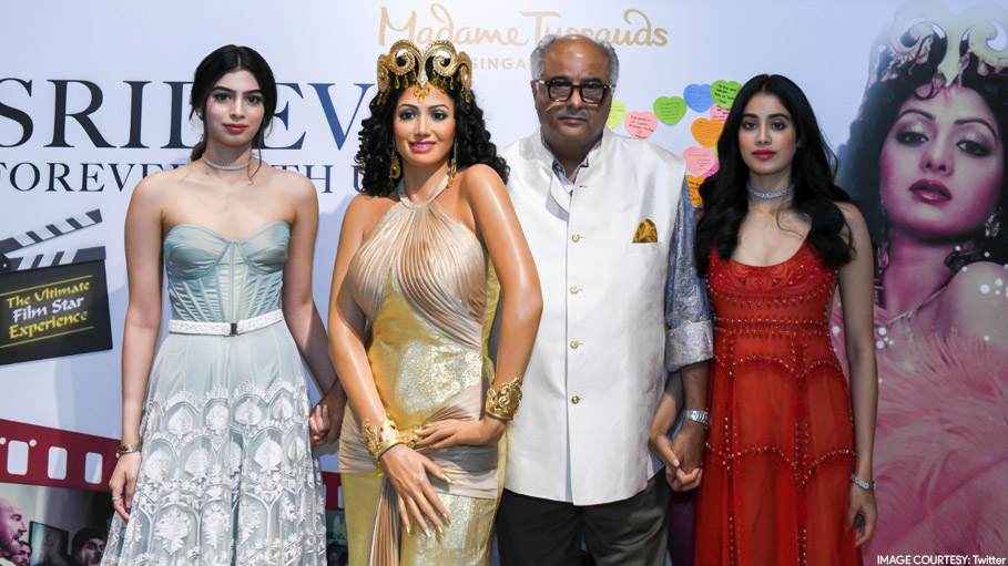 Sridevi's 'Hawa Hawai' Wax Statue Unveiled at Madame Tussauds Singapore
