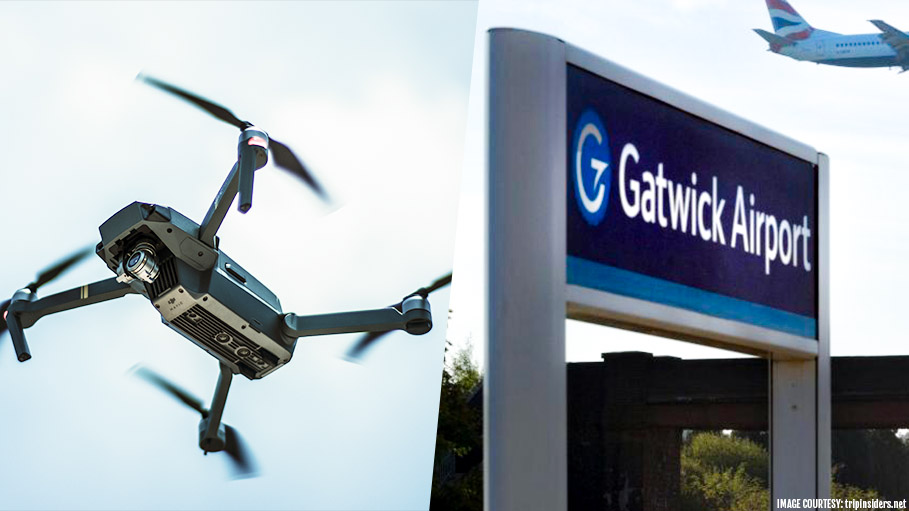 Thousands of Passengers Stranded at Gatwick Airport as Drones Take on the Sky