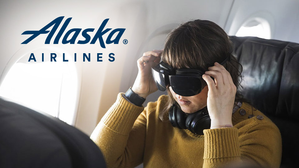 Alaska Flights Started VR Experience for Passengers
