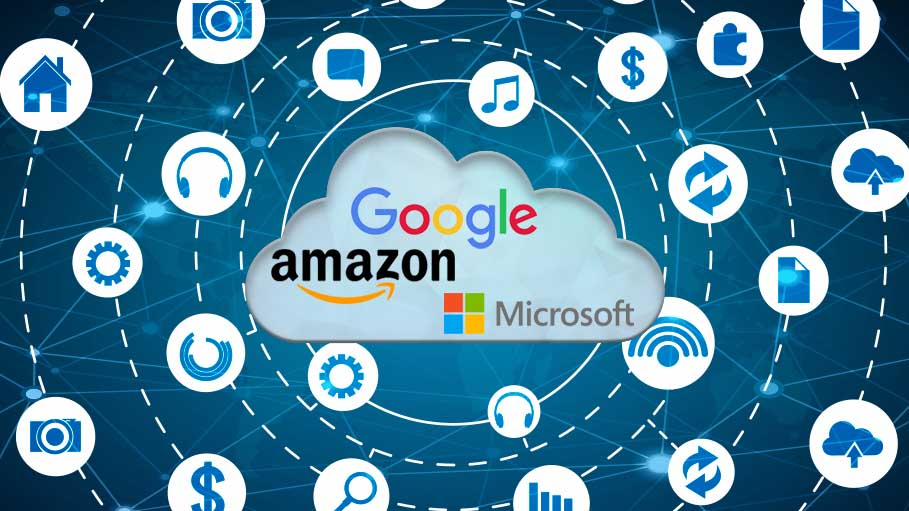 Amazon, Google, Microsoft are Top Trending Cloud Computing Service Providers in 2018