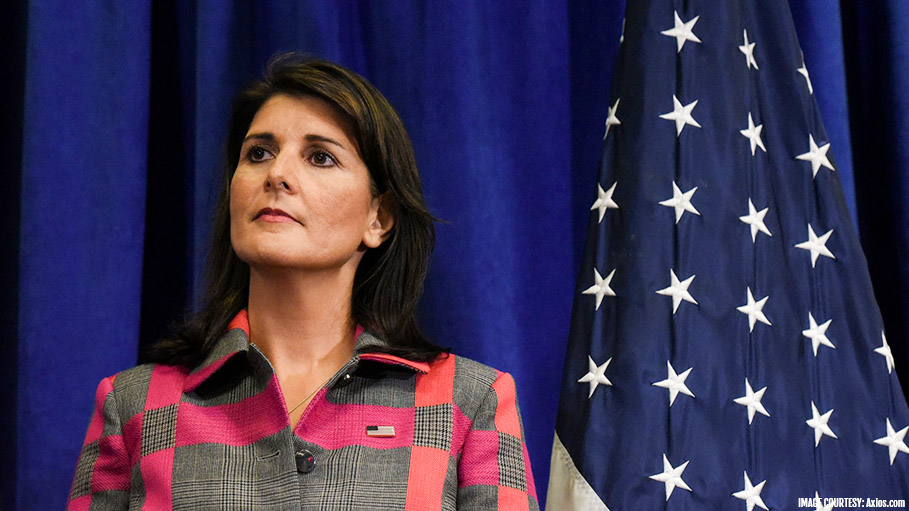 Nikki Haley, US Ambassador to United Nations Resigns