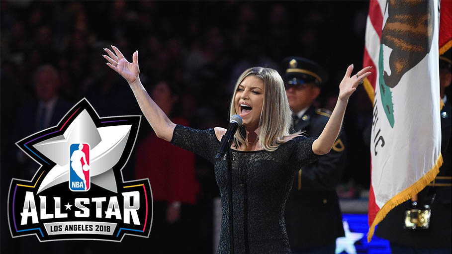 Here's How Fergie Responded When Mocked For Her National Anthem Performance At NBA All Star Game