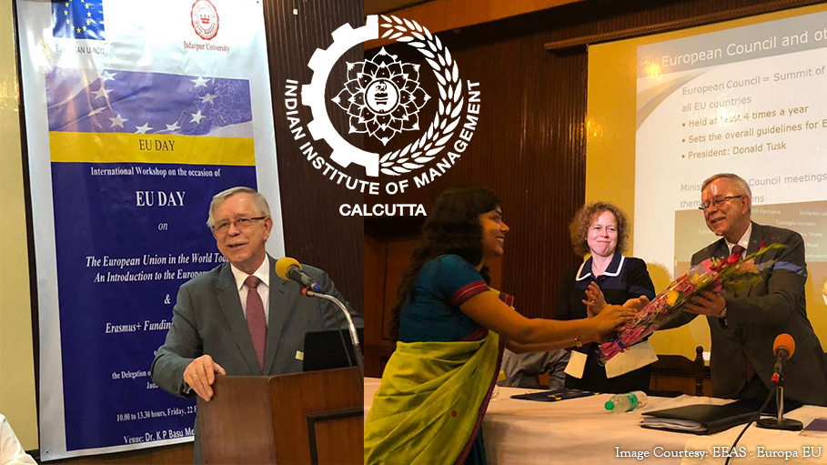 EU Ambassador Addresses IIMC Students