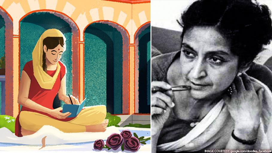 Writer Amrita Pritam's 100th Birthday, Google Doodle Pays Tribute