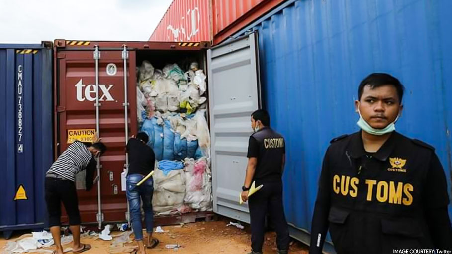 Indonesia Sends Back 250 Containers Full of the 'World's Waste'