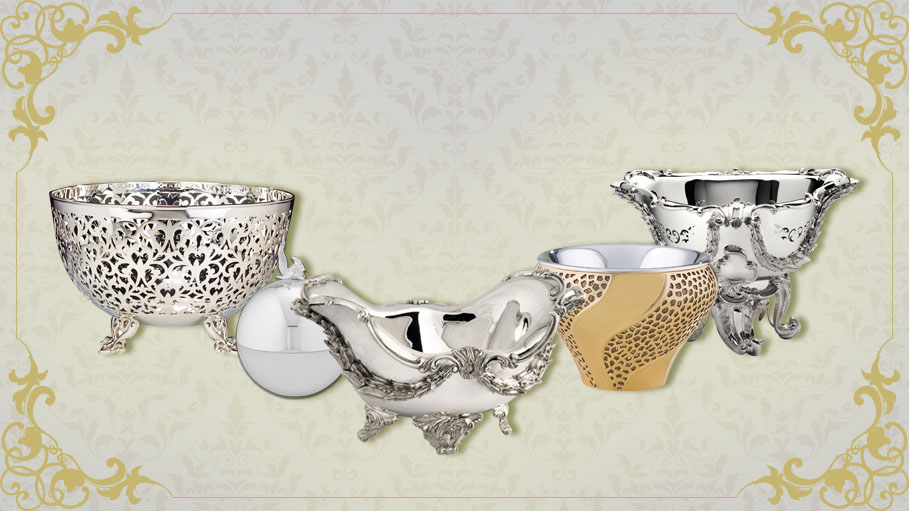 British Heritage Brand-Frazer and Haws Presents Magnificent Collection of Silver Bowls