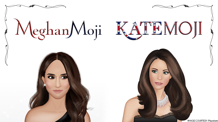 Kate Middleton and Meghan Markle as Stickers for Chat Apps