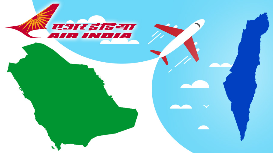 Air India Creates History by Making Its Maiden Flight to Israel Via Saudi Arabia Airspace
