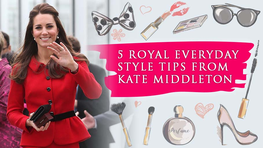 Kate Middleton Shares 5 Royal Fashion Tips to Style Your Everyday Look