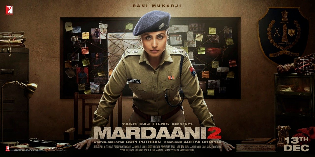 'Mardaani 2' First Poster Released As Well As the Teaser Trailer, Sequel Arriving This December