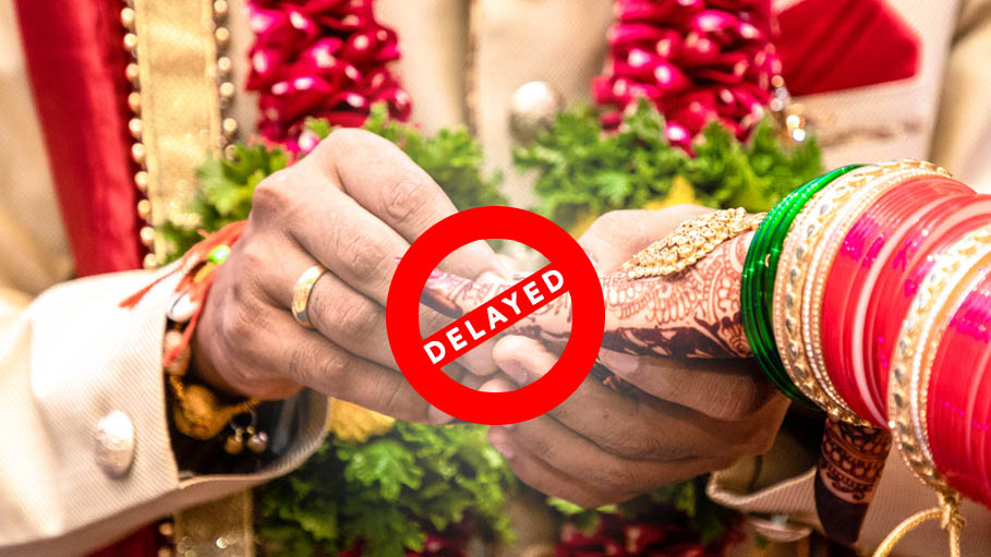 Indian Groom and Pakistan Bride's Wedding Delayed Due to Covid-19 Lockdown
