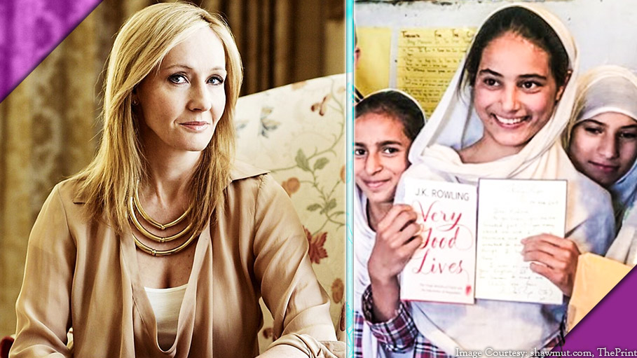 JK Rowling's Package and Handwritten Note to a Himalayan Girl Leaves Her Spellbound