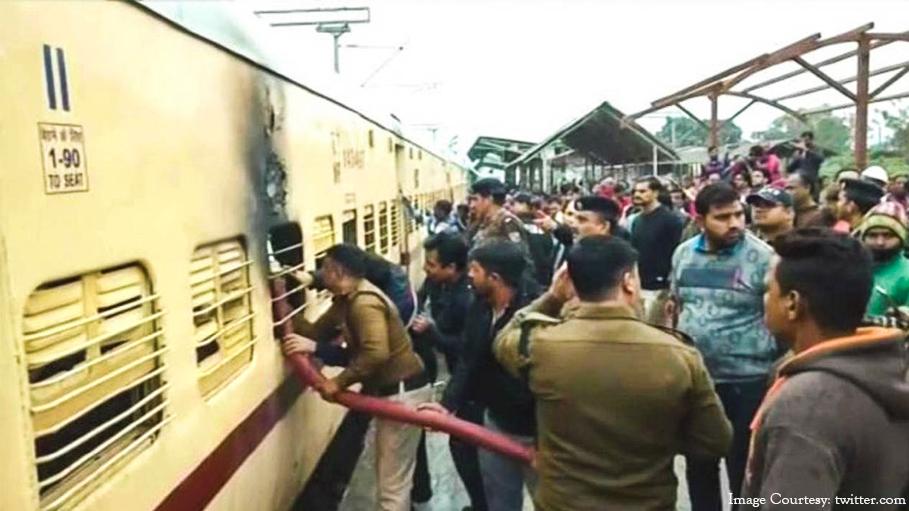 Man Sets Rishikesh-Delhi Train Coach on Fire after Being Denied ID Card