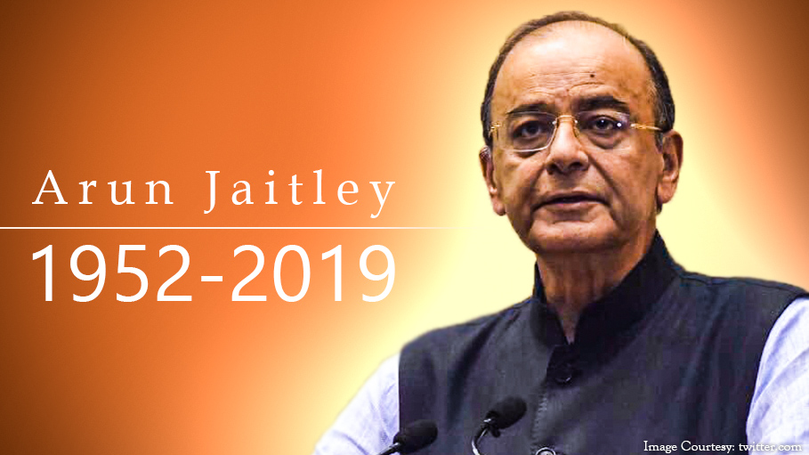 Arun Jaitley, the Former Indian Finance Minister Passes away at 66