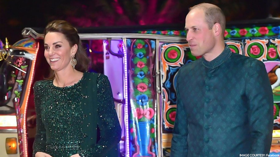 Kate Middleton and Prince William Took a Rickshaw Ride in Pakistan