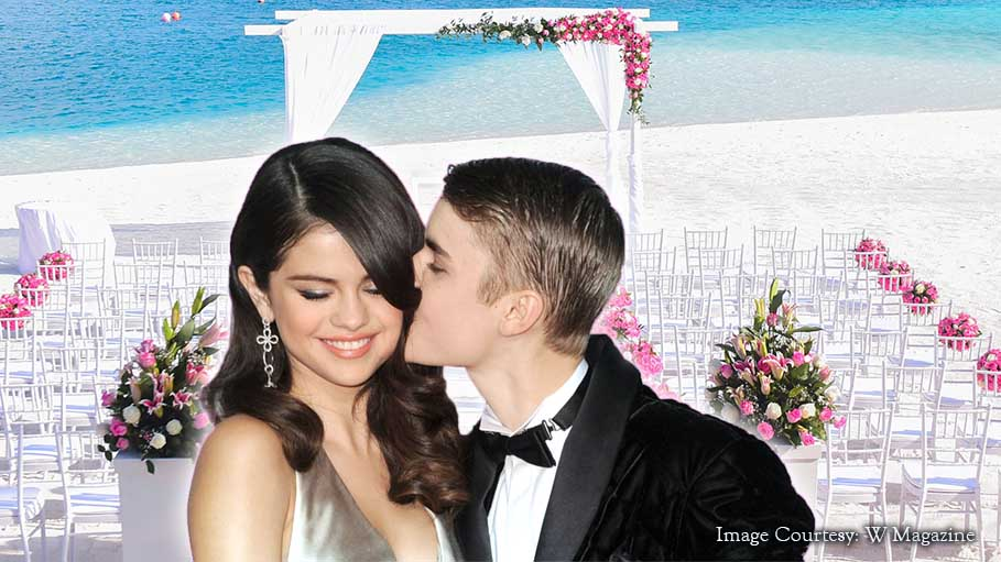 Justin And Selena Were Spotted At Jamaica At Justin's Father's Wedding