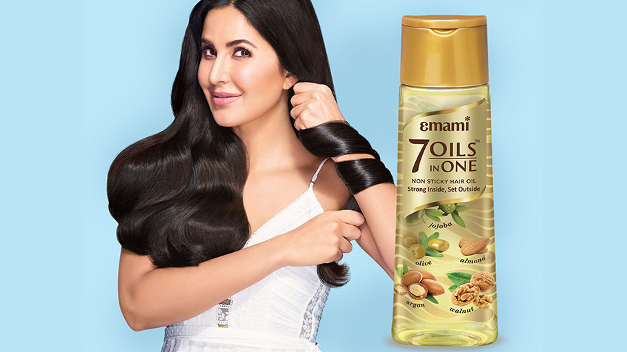Emami Ropes in Katrina Kaif to Endorse Emami 7 Oils in One