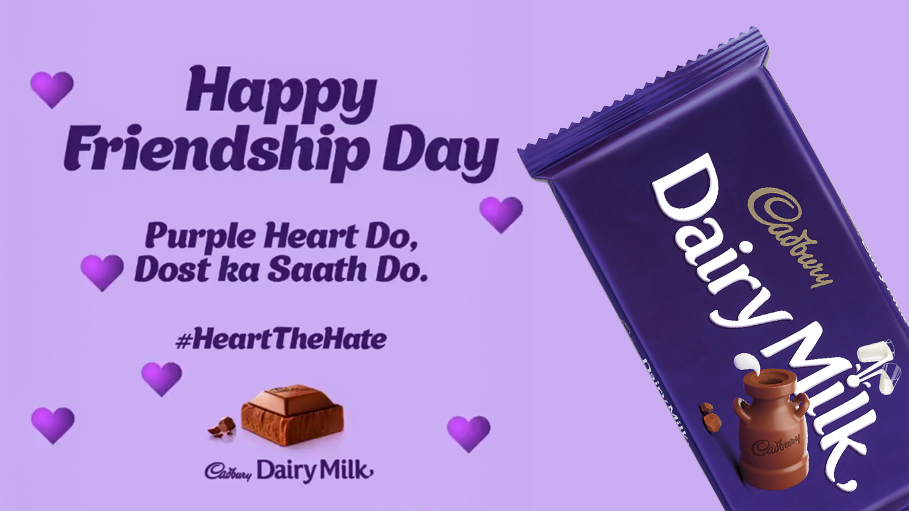 Cadbury Dairy Milk Launches #HeartTheHate Campaign against Cyberbullying