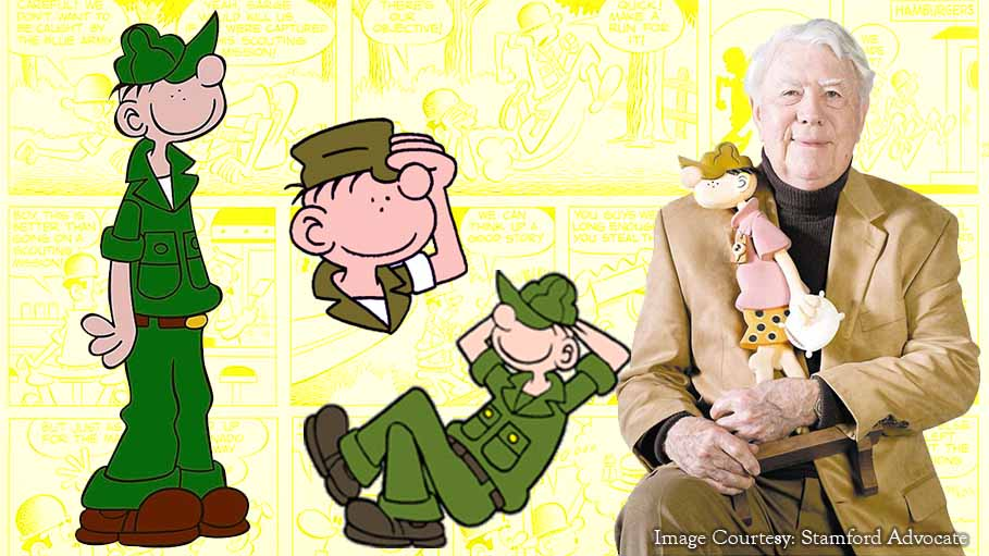 Beetle Bailey will Walk without Walker